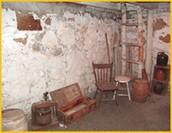Inside of John's cave