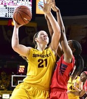 Sophie is PAC 12 Player of the Week!