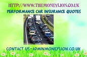 Compare Performance Car Insurance - What You Must Know.