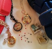 Lot of lockets to choose from.