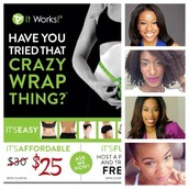Featuring that Crazy Wrap Thing!