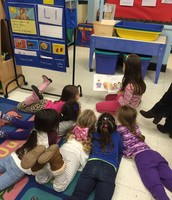 Reading with our Big Buddies