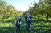Just a Little Fun in the Apple Orchard