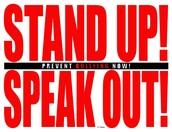 dont get bulled stand up and speak up