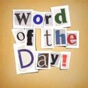 The Word of the Month is....
