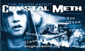 What are the slang terms for meth?