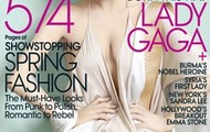 Lady Gaga looks really skinny in this photo for Vogue on November 2011