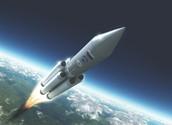 Yo volé la cohete a Plutón.