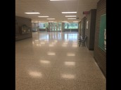 It's 9:04am and your student is in class and our hallways are clean!