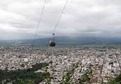 La ciudad de Salta y el teleferico