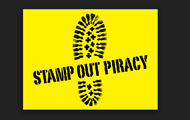 Stamp out piracy