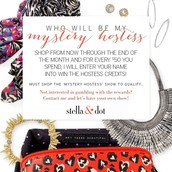 Mystery Hostess... Could be You!!