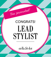 Congratulations to Alyssa Bert for promoting to Lead Stylist!