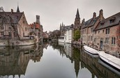This is the Canal of Bruges