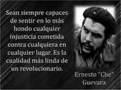 la Revolución se demuestra andando