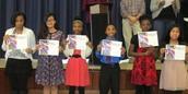 Sixth Grade Principal's Honor Awardees