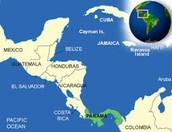 Una Mapa de Panama