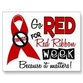 RED RIBBON WEEK, OCTOBER 26 - 30