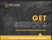 M Ed in Educational Leadership with Principal Certification