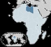 location of Libya