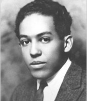 Langston Hughes as a teenager