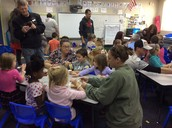 Family Thanksgiving in preschool!
