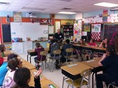 Joe Paddock in Ms. Gaddo's Class