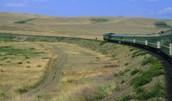 Trans-siberian train ride