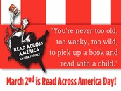 Read Across America Day-March 2