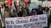 Protesting US Presence in Afghanistan and Pakistan