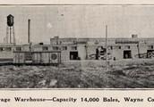Pamlico County cotton Storage