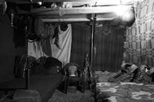 Afghan Soldiers living quarters