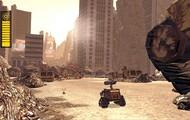 El medio ambiente donde vive Wall-E.