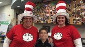 We celebrated Dr. Seuss' bday on Monday.