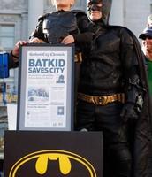 Bat Kid saves the day