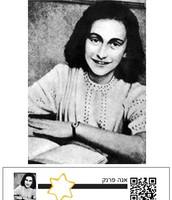תוויות לנרות לפעילות עם הילדים בנושא יום השואה.