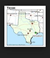 Location Of Huston On Map