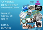 "Join us as we create our ""Vision of Success"" for 2015!"