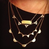 Pave Chevron Necklace + Signature Engravable Bar Necklace