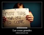 Grandes cosas :)