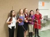 6th Grade Quintet - Gold!