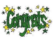 Congratulations to the Environmental Studies Graduating Seniors!