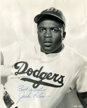 Where was JACKIE ROBINSON  born and when  he died