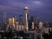 Cuando era joven visitaba Seattle.