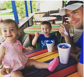 Mrs. Seelke's family started off summer with snowcones