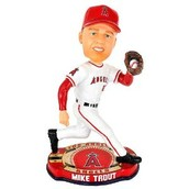 Mike Trout Bobblehead would be a premium item, given as a promotion to come to a Angels game.
