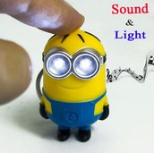 Minion sleutelhanger