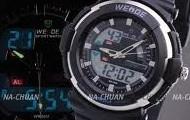 A digital watch