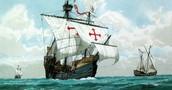 The main ship Columbus sailed in