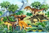 We can take you into the Mesozoic Era.